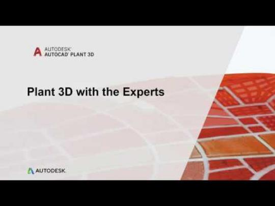 Plant 3D with the Experts (video blog series): Isometric and Ortho Settings | AutoCAD Plant 3D